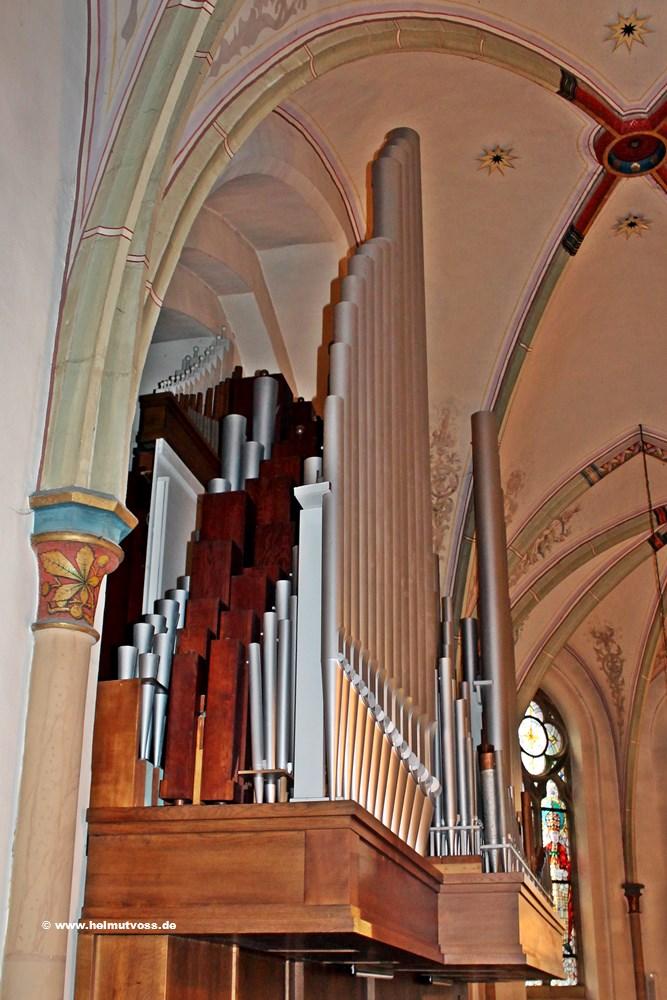 Feith - Orgel, Arnsberg - Hüsten, katholische Pfarrkirche
